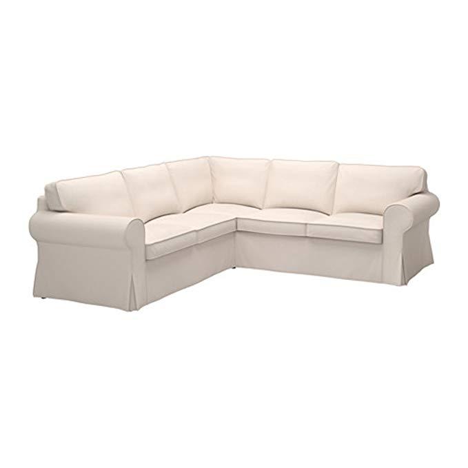 IKEA Ektorp Sectional Slipcover Cover, 4 Seat Corner, Lofallet Beige, 403.216.88